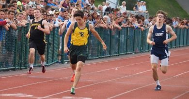 Stand-out freshman hopes to set records in track
