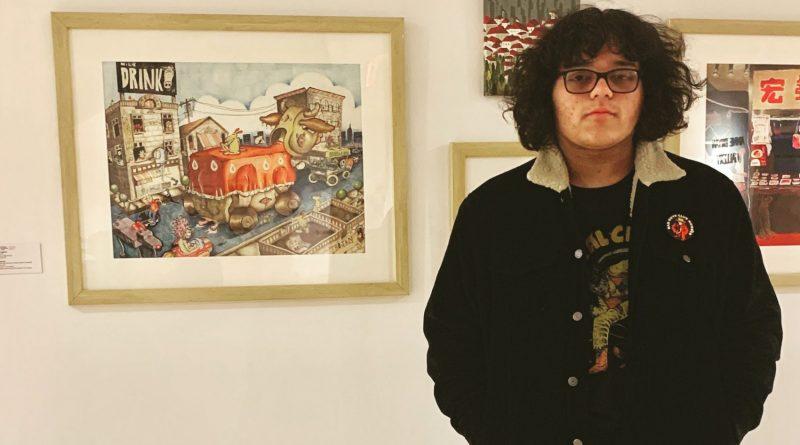"""Nate Garcia showcases """"Trojan Cow"""" in Philadelphia"""