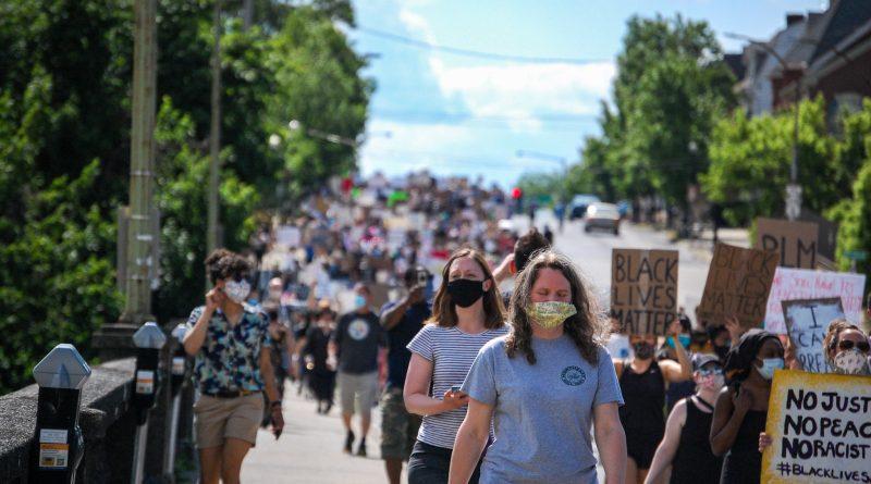 Black Lives Matter Bethlehem Protest, May 30: in photos