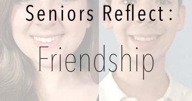 Seniors reflect on friendship over the course of their school career
