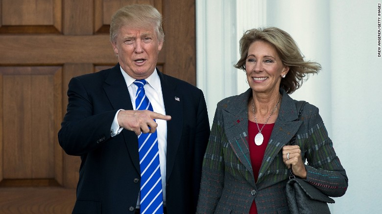 EHS reacts to DeVos' confirmation
