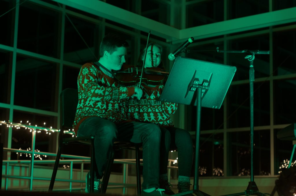 EHS orchestra hosts another successful coffee house fundraiser