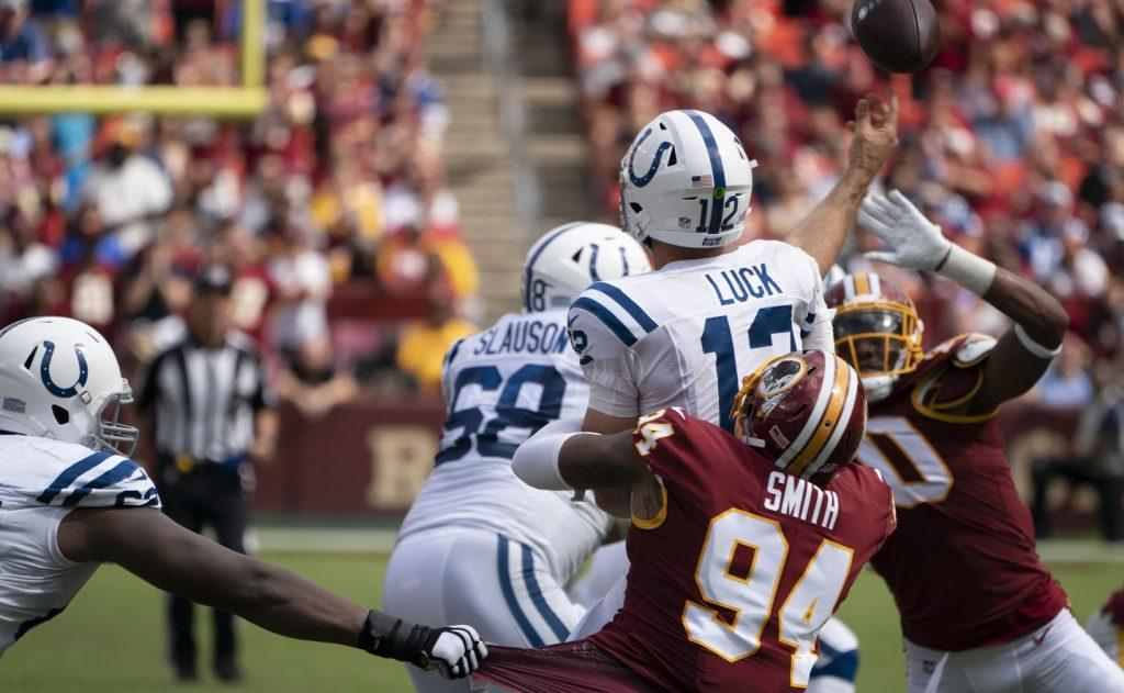 Colts at Redskins 09/16/18