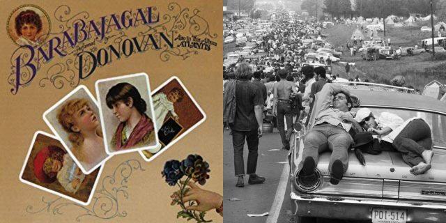 Photo of album courtesy of Amazon. Photo of Woodstock courtesy of National Geographic.