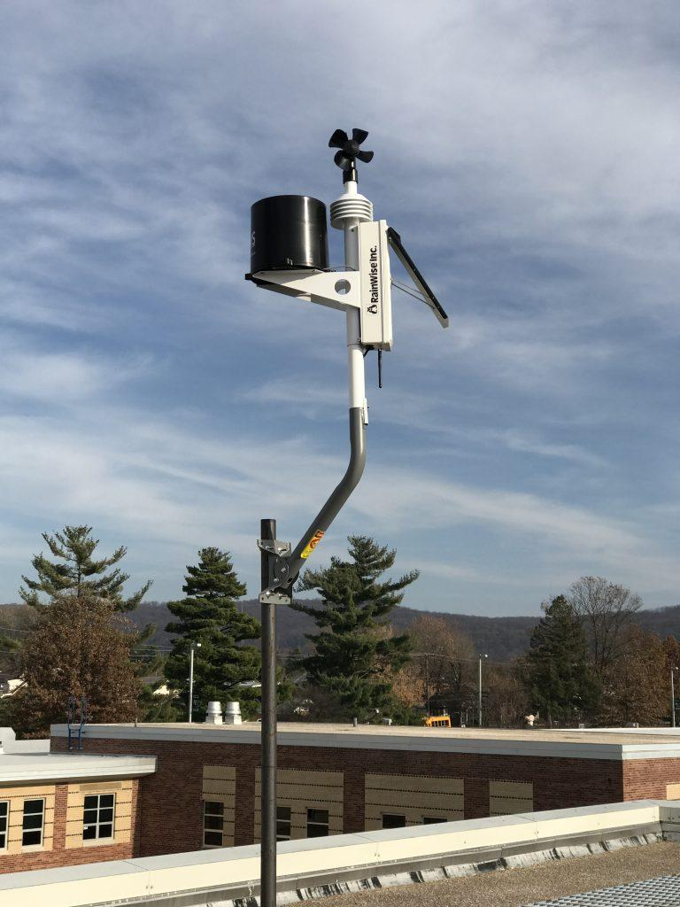 Up in the clouds: Meteorology Club installs live weather station on roof