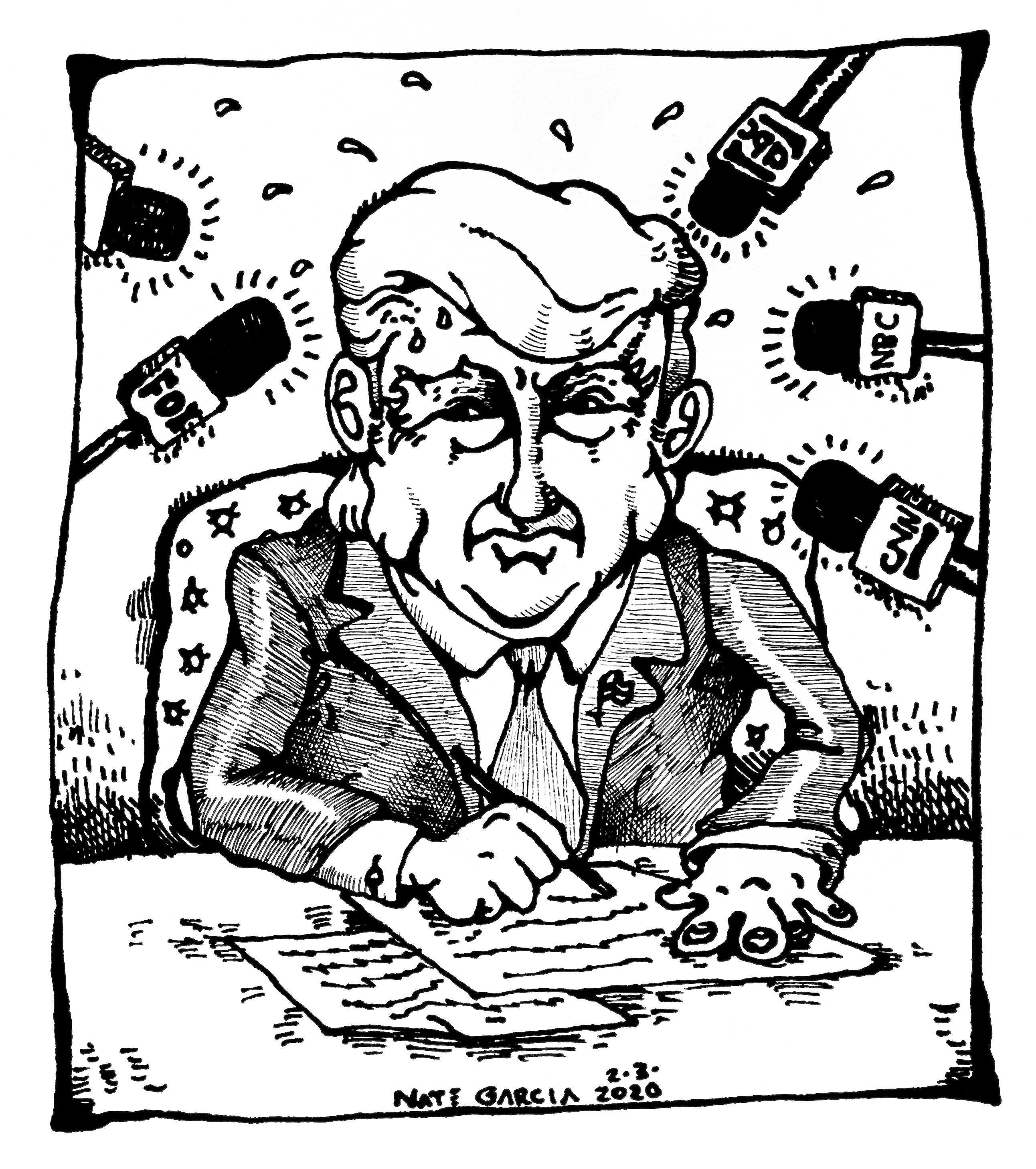 Cartoon by Nate Garcia
