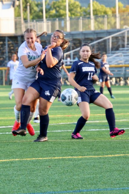 Girls soccer dismantles Dieruff in season opener