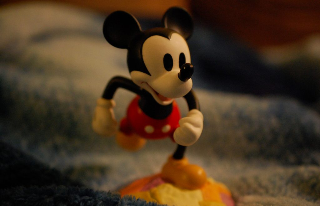 Mickey Mouse has been an icon of childhood for generations of people. Photo by Meliha Anthony.