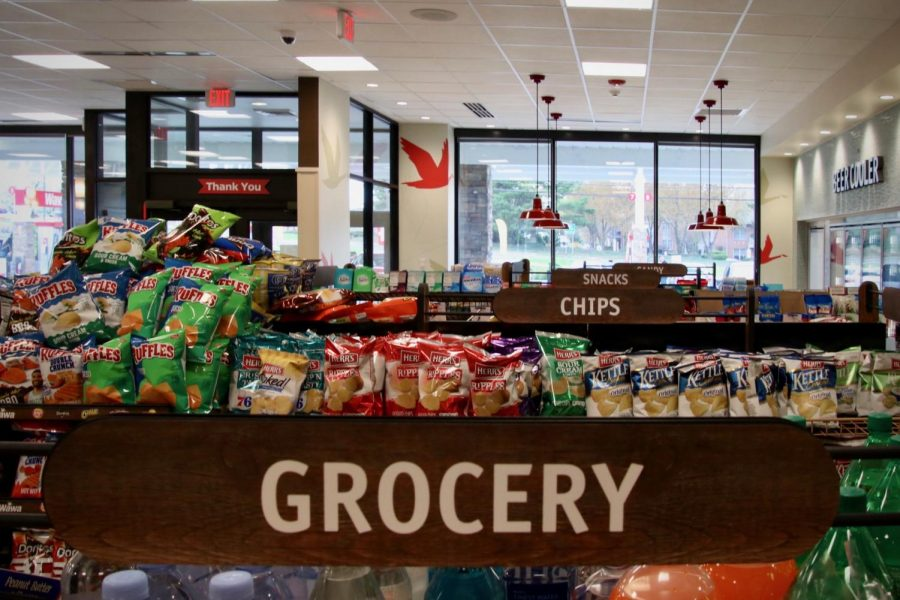 Along with a variety of snack and grocery options, this Wawa includes a hot and cold beverage bar. Photo by Bethany Brown.
