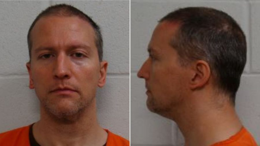Derek+Chauvin+was+convicted+of+three+charges+on+April+20.+Photo+courtesy+of+Hennepin+County+Jail.